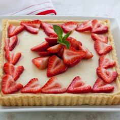 Strawberry Mascarpone Crostata