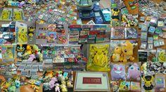 Nouvel arrivage les amis !! :D  Beaucoup de jeux de game boy et de super famicom ! Des consoles: super famicom, game boy advance, color (midnight blue <3), une belle gba sp kingdom hearts en boite et une naruto en loose). De nombreuses peluches Pokemon et goodies dont un Mew, un Dracolosse, des Pikachu, un Rondoudou et tellement d'autres :D :D  Mise en vente en cours, et préparation du SAVOIE RETRO GAMES !  https://vintagevideogame.fr/fr/  #pokémon #retrogaming #nintendo