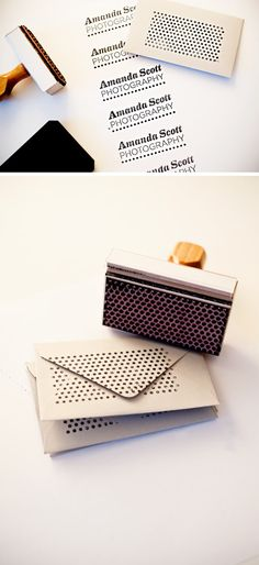 design stamps - brilliant concept..