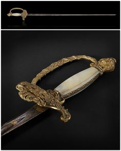 Officer's Sword. Dated: circa 1800. Culture: French.   Copyright © 2015 Expertissim