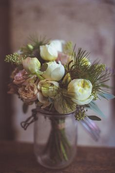 White Peony Bouquet   Camille Marciano for Junophoto   Bridal Musings Wedding Blog 33