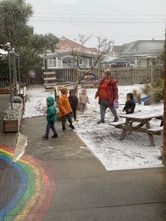 Yay, finally some snow!! #Childcare #Daycare #Kindergarten #Preschool #EarlyLearning #EarlyEducation #EarlyChildhoodEducation #ChildcareCentre #ChildcareCenter #LearningLinks #LearningLinksChildcare #Montessori #EarlyChildhood #ECE #MariaMontessori #SnowFall #Snow #DunedinNZ #Toddlers #Infant #Babies #Kids #Children Early Education, Early Childhood Education, Learning Centers, Early Learning, Maria Montessori, Pre School, Childcare, Toddlers, Kindergarten