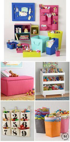 Organizando o quarto das crianças