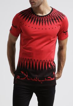Black Kaviar - ALDEN - T-Shirt print - red
