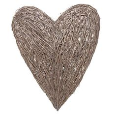 Giant Heart, Wall Hanging Wicker