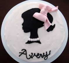 Vintage Barbie smash cake: my friend Heather Patton makes the best cakes, from esco find her on here or on my fb page