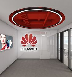 Technology expressed through design Name: Huawei Category: Office Renders: IVA STUDIO Concept: Prographic Architecture Studio 3d Interior Design, Office Decor, Concept, Technology, Studio, Architecture, Salvador, Building, Home Decor