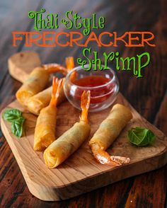 Thai Firecracker Shrimp Recipe on Yummly
