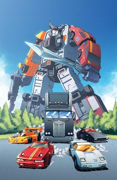 The Constructicons are my favorite Combiners, but there's just something stylin' about my speedy, deadly, psychotic STUNTICONS! XD
