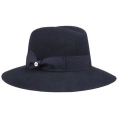 Unkomplizierte Hüte für Damen. Modische Damenhüte im Herbst. Uni Damenflapper Wollfilzhut by Lierys mit 24 h Versand, Rechnungskauf & 100 Tage Umtausch.