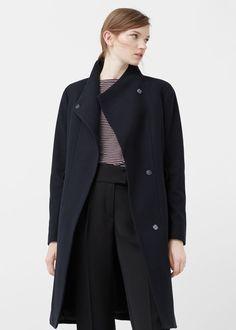 Palton lână curea - Femei | OUTLET România