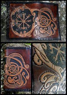 Viking leather work