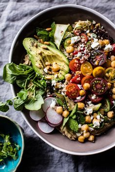 Loaded Greek Quinoa Salad | halfbakedharvest.com @Half Baked Harvest