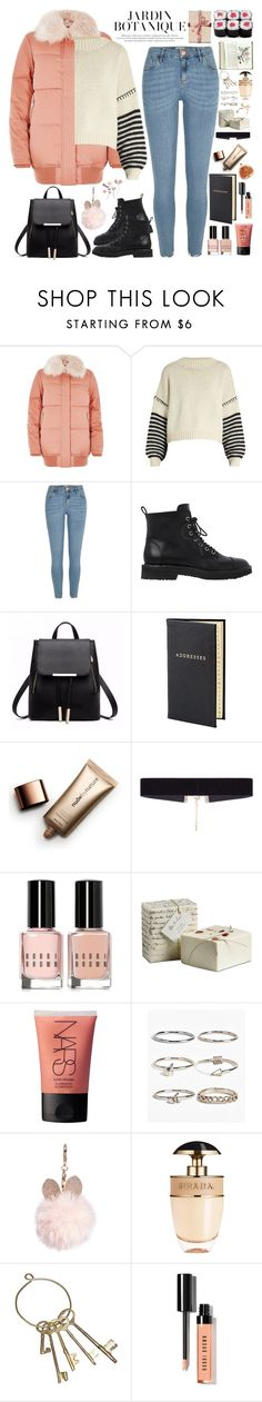 """""""2465. Winter Time"""" by chocolatepumma ❤ liked on Polyvore featuring River Island, Sportmax, Giuseppe Zanotti, Aspinal of London, Nude by Nature, 8 Other Reasons, Bobbi Brown Cosmetics, NARS Cosmetics, Boohoo and GUESS"""