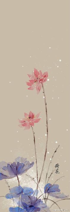 一碟朱砂绘花颜,几笔相思入了画。