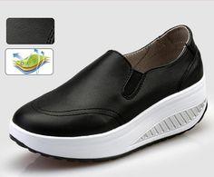 hot  Height Increasing Women Shoes Spring/Autumn Women's Vulcanize Shoes Fashion Flats Shoes Swing Wedges Shoes Woman 35--40