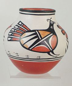 Robert Tenorio Birds of a Feather Santo Domingo Pottery