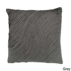 @Overstock.com - Layered Felt Wool 20-inch Decorative Pillow - This textured decorative pillow in your choice of several available colors will add visual interest to your sofa or bed. It has a contemporary look that will fit most decors, and its feather and down filling ensure it is soft to the touch.  http://www.overstock.com/Home-Garden/Layered-Felt-Wool-20-inch-Decorative-Pillow/8046173/product.html?CID=214117 $33.99