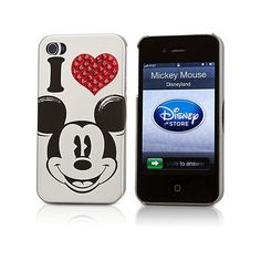 Mickey Mouse iPhone 4/4S Case ($25) ❤ liked on Polyvore
