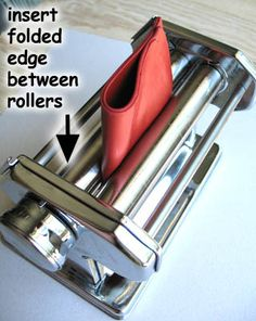 From Desiree - How To Use a Pasta Machine   #Polymer #Clay #Tutorials