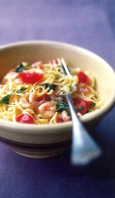 Seafood Linguine by Antonio Carluccio. Also check out: http://www.foodnetwork.com/recipes/emeril-lagasse/linguine-with-seafood-recipe/index.html