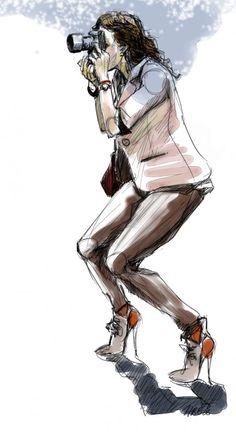 Hilbrand Bos fashion illustration - Garance Dore