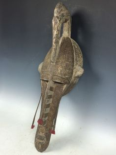 ITEM NAME - AFRICAN ART BAMANA MASK. It is amazing to think of all of the outstanding creativity, artistry and skill that people have put into beautiful objects for us to collect, enjoy and treasure. | eBay!