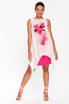 Womens Apricot Tiered Dress Wallis Ao6saVLNeR