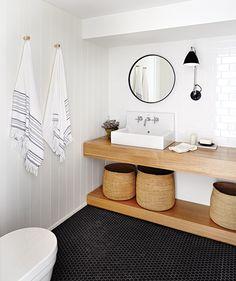 Photos : 20 styles de salles de bain   Maison et Demeure