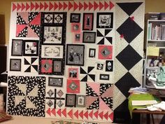 Ghastlies family quilt