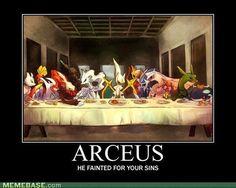 Pokemon Arceus / Jesus