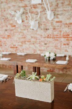 28 Trendigen Beton Hochzeit Tisch Dekor Ideen