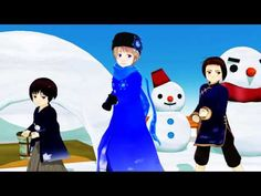 This one is super cute! It shows Little Russia, Japan, and China ^_^