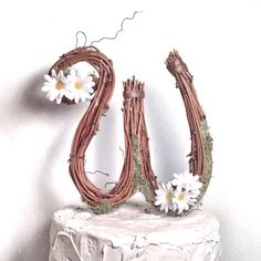Letter W Rustic Twig Wedding Cake Topper by TheOriginalTwig, $34.00 Wedding Cake Toppers, Wedding Cakes, Letter W, Plant Hanger, Rustic, Unique Jewelry, Handmade Gifts, Random, Etsy