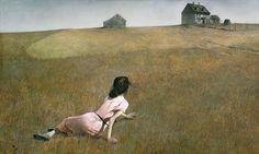 'Christina's World', 1948 : Andrew Wyeth. Museum of Modern Art