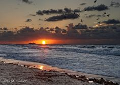 Sunrise Galveston Beach ~ Explored ~