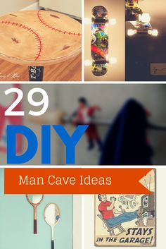29 Cool DIY Man Cave Ideas