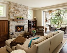 #HomeOwnerBuff traditonal living room design with fireplace