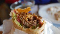 Shawarma de cordero.