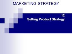 12 Setting Product Strategy> Definition Of Product, Learning Objectives, Life Cycles, Definitions, Study, Marketing, Studio, Learning Targets, Learning