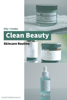 If you have oily/combo skin look no further-- This routine is built around just that skintype. Plus, this is a full clean beauty skincare routine! Night Beauty Routine, Skin Care Routine 30s, Skincare Routine, Facial Skin Care, Natural Skin Care, Natural Beauty, Perfect Skin, Clean Beauty, Cleaning