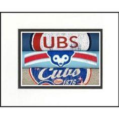 Chicago Cubs 1 Vintage Sports Art Baseball Nursery, Sports Art, Burger King Logo, Chicago Cubs Logo, Illinois, Canvas Art, Logos, Man Cave, Room Ideas