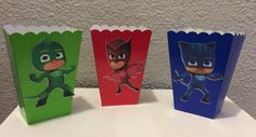 A personal favorite from my Etsy shop https://www.etsy.com/listing/262120942/pj-mask-12pc-treat-boxes-free-shipping