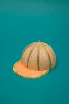 melon cap food still life photography Minimal Photography, Still Life Photography, Creative Photography, Food Photography, Photography Aesthetic, Sarah Illenberger, True Fruits, Poesia Visual, Photo Food