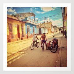 cuba, colors, road, people, travel, sun