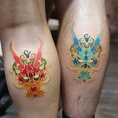 japanese tattoos for strength – japanese tattoos for strength … - Famous Last Words Asian Tattoos, Leg Tattoos, Body Art Tattoos, Tattoo Drawings, Small Tattoos, Tatoos, Blackwork, Korea Tattoo, Bild Tattoos
