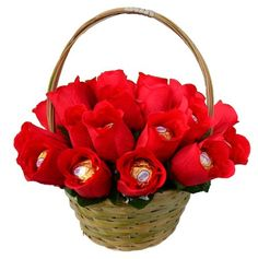 valentine gift baskets for him pinterest