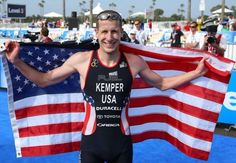 """37year old Hunter Kemper US Olympic triathlon team: Quotes """"I can do all things through Christ who strengenths me"""" on National TV after his 14th place finish.  OUTSTANDING JOB Hunter!"""