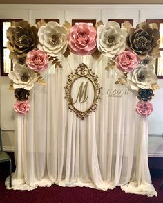 New baby photoshoot backdrop paper flowers 64 Ideas Paper Flower Wall, Paper Flower Backdrop, Giant Paper Flowers, 16th Birthday Decorations, Birthday Party Decorations, Birthday Backdrop, 60th Birthday, Birthday Parties, Tea Party Theme