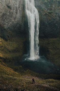 "alecsgrg:  ""Salt Creek Waterfall | ( by Garrett King ) """